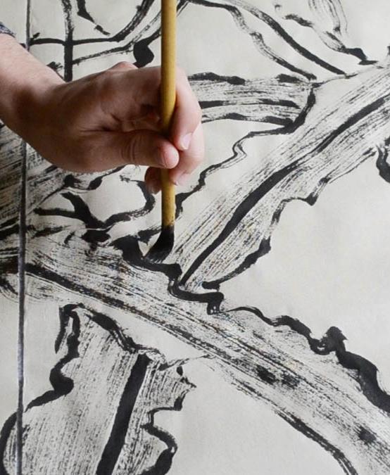 cornfield brush painting 1 web 1