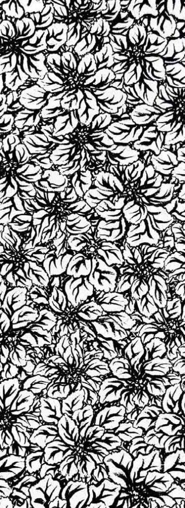 leaves pattern web vertical